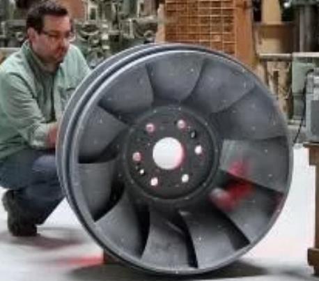 发动机叶轮检测
